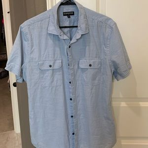 Men's Express Summer Button Down
